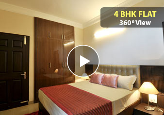 4 BHK Flat 360 Degree View