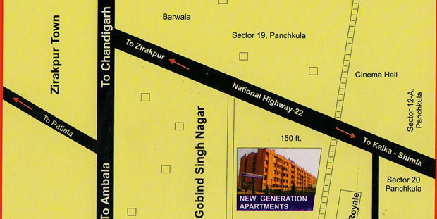 NG Apartments Location Plan Small