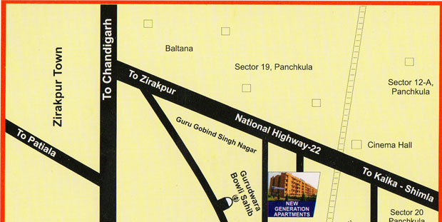 NG Duplex Location Plan