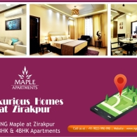 3bhk flats in Zirakpur