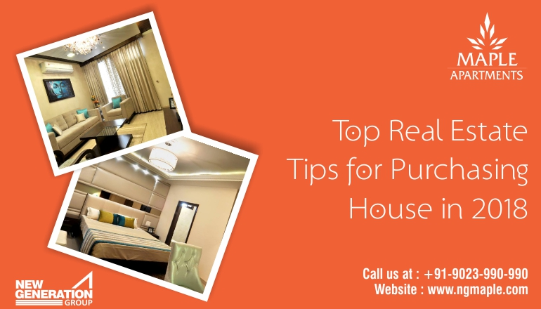 Top 10 Real Estate Tips for Purchasing House in 2018