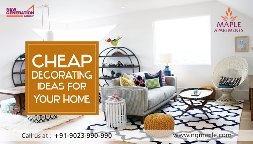 Cheap Decorating Ideas For Your Home